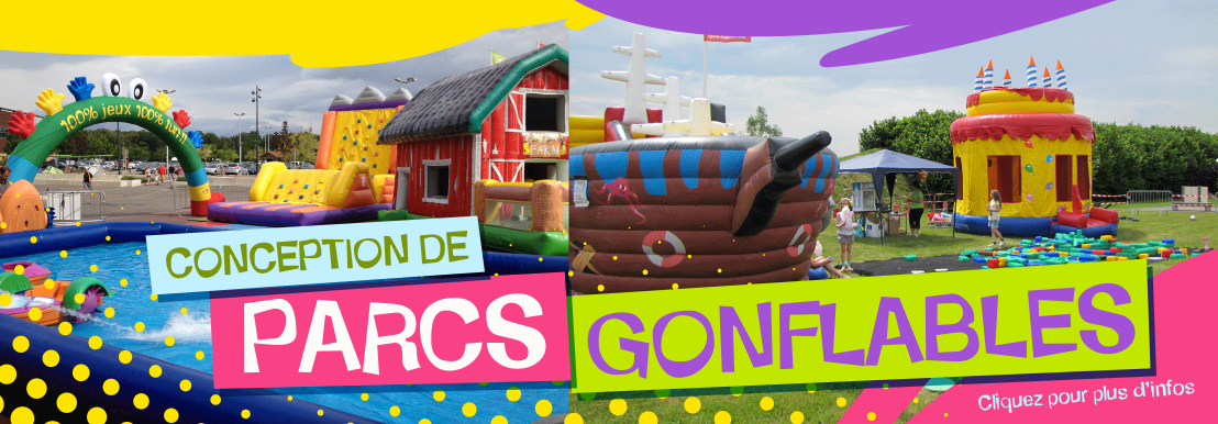 Conception de parcs gonflables